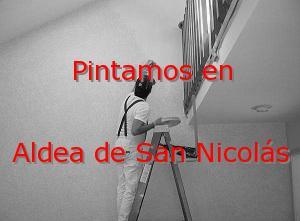 Pintor Las Palmas Aldea de San Nicolás