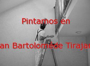 Pintor Las Palmas San Bartoloméde Tirajana