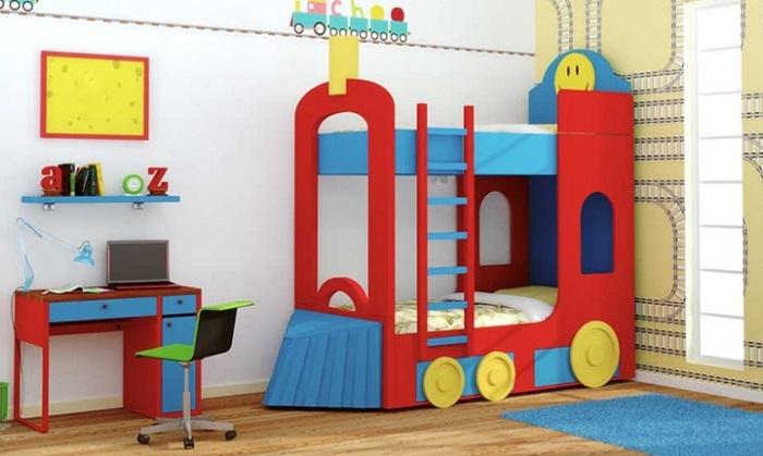 Pintura en dormitorios infantiles pintor las palmas for Imagenes de camas infantiles